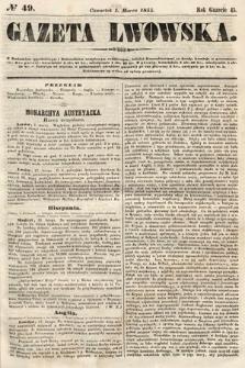 Gazeta Lwowska. 1855, nr49