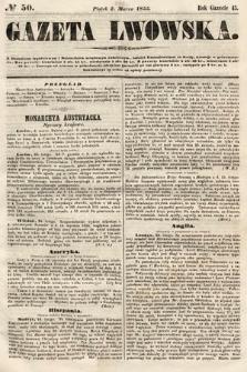 Gazeta Lwowska. 1855, nr50