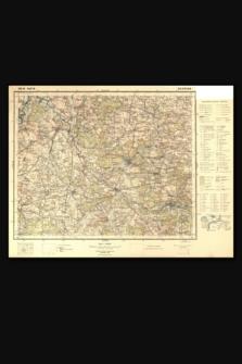 Mapa taktyczna Polski : pas 43 : słup 28 : Szczerców