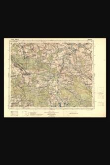 Mapa taktyczna Polski : pas 45, słup 27 : Krzepice