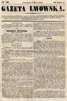 Gazeta Lwowska. 1855, nr52