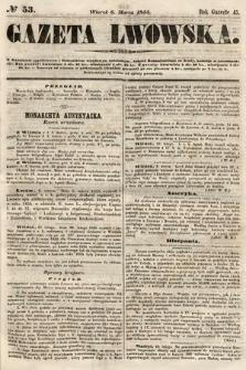 Gazeta Lwowska. 1855, nr53