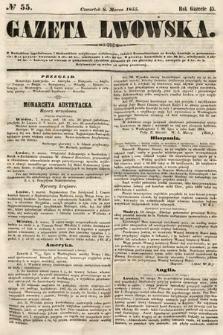 Gazeta Lwowska. 1855, nr55