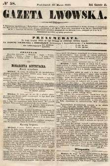 Gazeta Lwowska. 1855, nr58