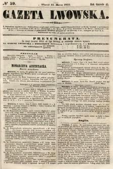 Gazeta Lwowska. 1855, nr59
