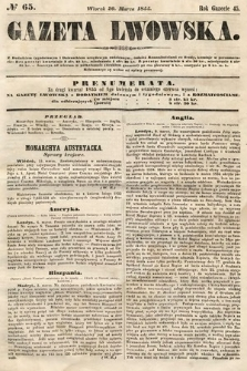 Gazeta Lwowska. 1855, nr65