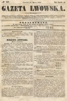 Gazeta Lwowska. 1855, nr67