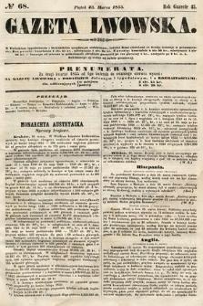 Gazeta Lwowska. 1855, nr68
