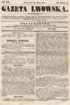 Gazeta Lwowska. 1855, nr70
