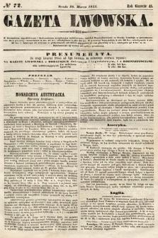 Gazeta Lwowska. 1855, nr72