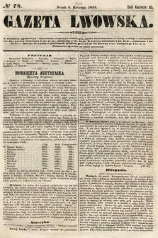 Gazeta Lwowska. 1855, nr78