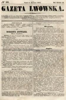 Gazeta Lwowska. 1855, nr80