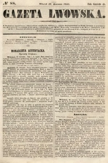 Gazeta Lwowska. 1855, nr88