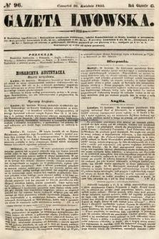 Gazeta Lwowska. 1855, nr96