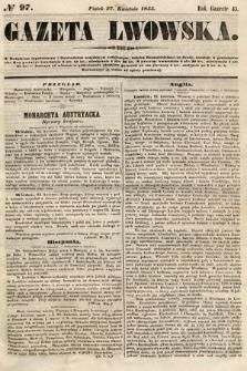 Gazeta Lwowska. 1855, nr97