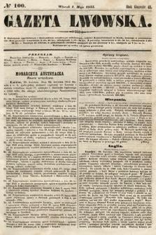 Gazeta Lwowska. 1855, nr100