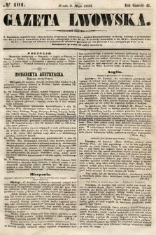 Gazeta Lwowska. 1855, nr101