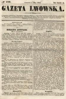 Gazeta Lwowska. 1855, nr102