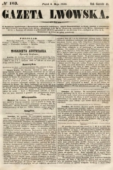 Gazeta Lwowska. 1855, nr103
