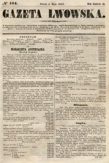 Gazeta Lwowska. 1855, nr104