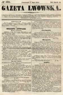 Gazeta Lwowska. 1855, nr105