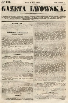 Gazeta Lwowska. 1855, nr107