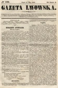 Gazeta Lwowska. 1855, nr109