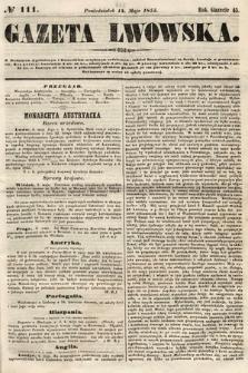 Gazeta Lwowska. 1855, nr111