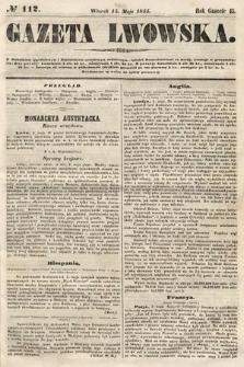 Gazeta Lwowska. 1855, nr112