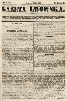 Gazeta Lwowska. 1855, nr113