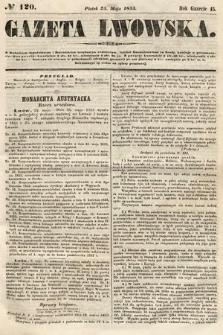 Gazeta Lwowska. 1855, nr120
