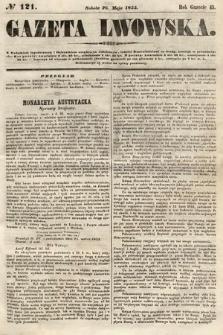 Gazeta Lwowska. 1855, nr121