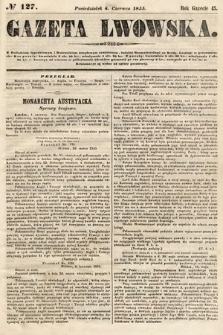 Gazeta Lwowska. 1855, nr127