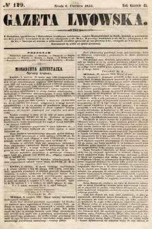 Gazeta Lwowska. 1855, nr129