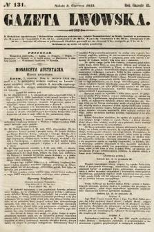 Gazeta Lwowska. 1855, nr131