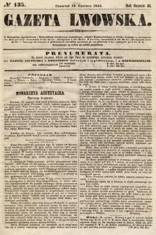 Gazeta Lwowska. 1855, nr135
