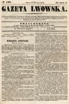 Gazeta Lwowska. 1855, nr136