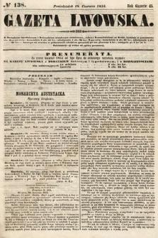 Gazeta Lwowska. 1855, nr138