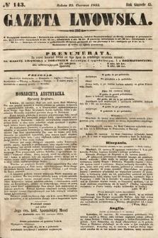 Gazeta Lwowska. 1855, nr143