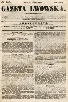 Gazeta Lwowska. 1855, nr146