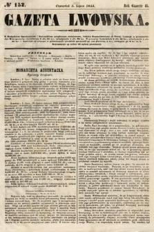 Gazeta Lwowska. 1855, nr152