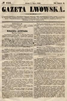 Gazeta Lwowska. 1855, nr154