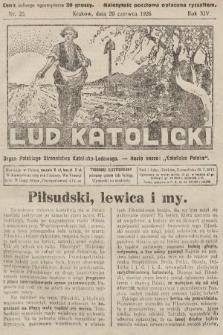 Lud Katolicki : organ Polskiego Stronnictwa Katolicko-Ludowego. 1926, nr25