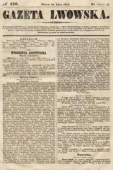 Gazeta Lwowska. 1855, nr156