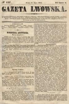 Gazeta Lwowska. 1855, nr157