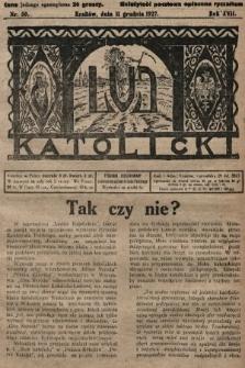 Lud Katolicki. 1927, nr50