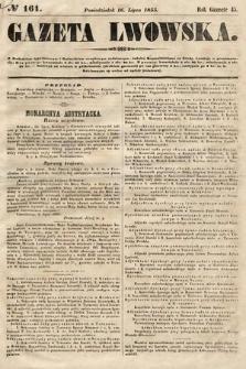 Gazeta Lwowska. 1855, nr161