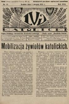 Lud Katolicki : organ Polskiego Stronnictwa Katolicko-Ludowego. 1928, nr32