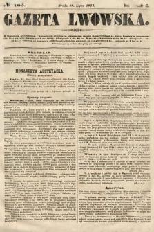 Gazeta Lwowska. 1855, nr163