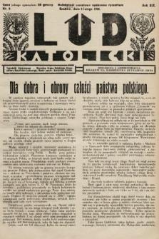 Lud Katolicki : tygodnik ilustrowany : naczelny ogran Polskiego Stronnictwa Katolicko-Ludowego. 1931, nr6